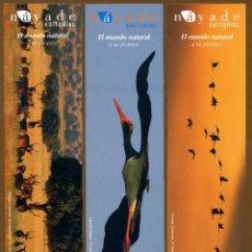Coleccionismo Marcapáginas: 3 MARCAPÁGINAS EDITORIAL NAYADE. Lote 151639058