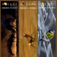 Coleccionismo Marcapáginas: 3 MARCAPÁGINAS EDITORIAL NAYADE. Lote 151639202