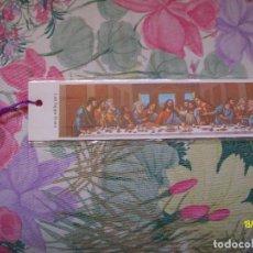 Coleccionismo Marcapáginas: MARCAPAGINAS JERUSALEN LA ULTIMA CENA FLOWERS FROM THE HOLY LAND. Lote 151721066