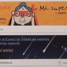 Coleccionismo Marcapáginas: MARCAPÁGINAS EDITORIAL BOOLINO.MI SUPERABUELA-. Lote 151893862