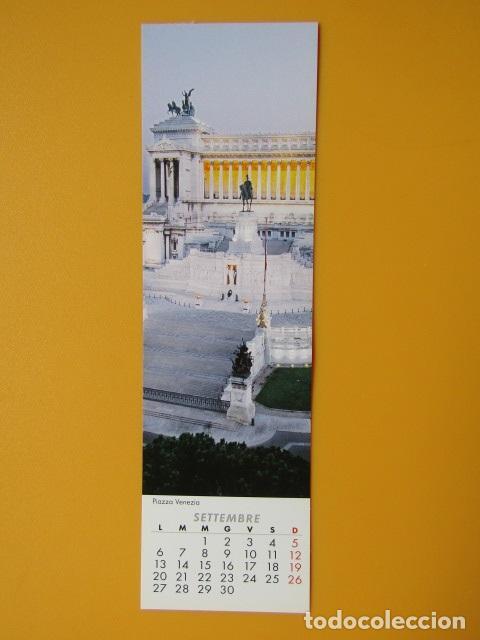 As Roma Calendario.Marcapaginas Roma Calendario Segnalibro 2010 Bookmark Calendar 2010 Settembre Diversos Autores