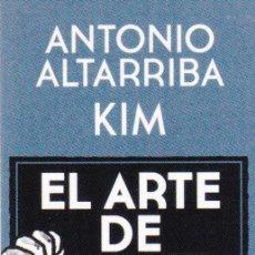Coleccionismo Marcapáginas: MARCAPÁGINAS: EL ARTE DE VOLAR - EDITORIAL NORMA - COMIC . Lote 155619342
