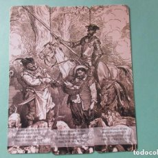 Coleccionismo Marcapáginas: MARCAPAGINAS PUZZLE DEL QUIJOTE. Lote 157306830