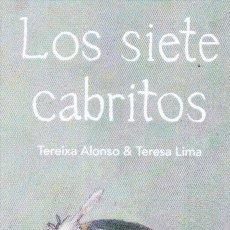 Coleccionismo Marcapáginas: MARCAPAGINAS: LOS SIETE CABRITOS - EDITORIAL OQO - CASTELLANO. Lote 236568090