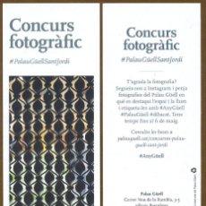 Coleccionismo Marcapáginas: MARCAPAGINAS ANTONI GAUDI - PALAU GÜELL. Lote 195423768