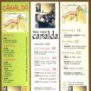 Coleccionismo Marcapáginas: 3 MARCAPÁGINAS FESTA MAJOR CANALDA 2005. Lote 160028982
