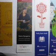 Coleccionismo Marcapáginas: LOTE MARCAPAGINAS VARIADAS. Lote 160959346