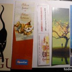 Coleccionismo Marcapáginas: LOTE MARCAPAGINAS VARIADAS. Lote 162142806