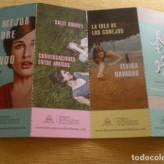 Coleccionismo Marcapáginas: LOTE MARCAPÁGINAS MUJERES PENGUIN RANDOM HOUSE. Lote 163515974
