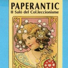 Coleccionismo Marcapáginas: MARCAPÁGINAS DE EDICIONES DE ASPAC TÍTULO DE II SALÓ COL·LECCIONISME PAPERANTIC BARCELONA 2004. Lote 164577142