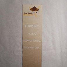 Coleccionismo Marcapáginas: CASA RURAL BIENESTAR CITY. Lote 165361598