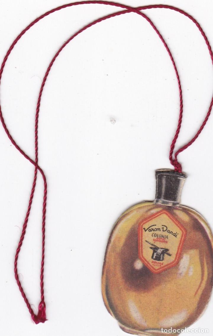 Coleccionismo Marcapáginas: ANTIGUO MARCAPAGINAS TROQUELADO PUBLICIDAD COLONIA VARON DANDI AÑOS 40 - 50 VER FOTO ADICIONAL - Foto 2 - 167004048