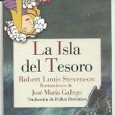 Coleccionismo Marcapáginas: MARCAPÁGINAS. REINO DE CORDELIA. ROBERT LOUIS STEVENSON. LA ISLA DEL TESORO. Lote 180166802