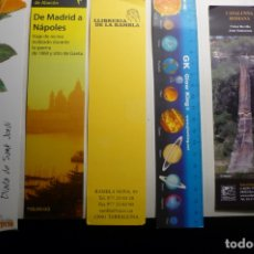 Coleccionismo Marcapáginas: LOTE MARCAPAGINAS VARIADAS. Lote 168171940