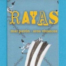 Coleccionismo Marcapáginas: MARCAPÁGINAS DE EDICIONES PALABRAS DE AGUAS PUBLICIDAD DE RAYAS . Lote 168233180