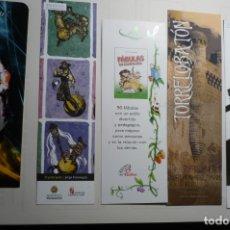 Coleccionismo Marcapáginas: LOTE MARCAPAGINAS VARIADOS. Lote 168304732