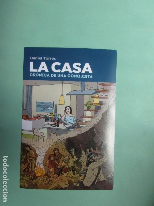 MARCAPAGINAS EDITORIAL NORMA FORMATO POSTAL LA CASA (Coleccionismo - Marcapáginas)