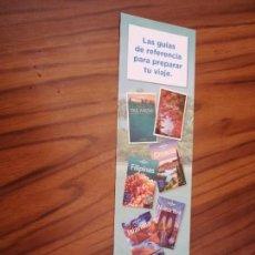Coleccionismo Marcapáginas: MARCAPAGINAS. LITERATURA. LAS GUIAS DE REFERENCIA PARA EL VERANO. DOBLE CARA. BUEN ESTADO. Lote 169307000