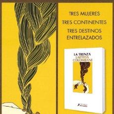 Coleccionismo Marcapáginas: MARCAPÁGINAS – EDITORIAL SALAMANDRA LA TRENZA. Lote 289645238