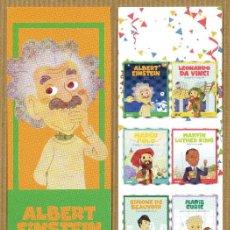 Coleccionismo Marcapáginas: MARCAPÁGINAS MIS PEQUEÑOS HEROES ALBERT EINSTEIN - CAT. Lote 170974799