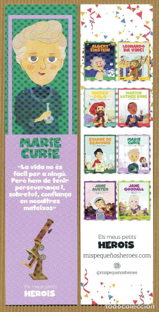 MARCAPÁGINAS MIS PEQUEÑOS HEROES MARIE CURIE - CAT (Coleccionismo - Marcapáginas)