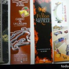 Coleccionismo Marcapáginas: LOTE MARCAPAGINAS VARIADAS. Lote 171434468