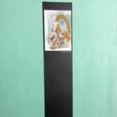 Coleccionismo Marcapáginas: MARCAPAGINAS DEL QUIJOTE SALAMANCA CIUDAD CULTURAL . Lote 171651730