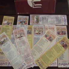 Coleccionismo Marcapáginas: COLECCION BUENOS AIRES TANGO ARGENTINO - 13 MARCAPAGINAS CON ESTUCHE - CIRCULO DE LECTORES. Lote 172722065