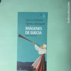 Coleccionismo Marcapáginas: MARCAPAGINAS EDITORIAL NORDICA IMÁGENES DE SUECIA. Lote 244628755