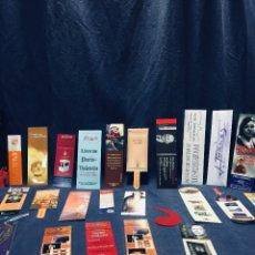 Coleccionismo Marcapáginas: LOTE DE 30 MARCA PAGINAS MARCAPAGINAS DIVERSOS VER FOTOS. Lote 173588204