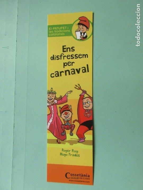 MARCAPAGINAS EDITORIAL COSSETANIA ENS DISFRESSM PER CARNAVAL (Coleccionismo - Marcapáginas)