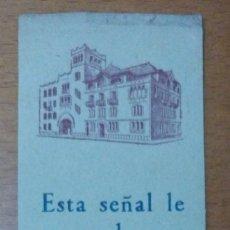 Coleccionismo Marcapáginas: PUNTO DE LIBRO MARCAPÁGINAS LIBRERIA BALMES BARCELONA. Lote 175970544