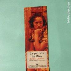 Collectionnisme Marque-pages: MARCAPAGINAS EDITORIAL NAVONA LA PARCELA DE DIOS. Lote 191749142