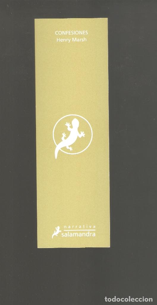 Coleccionismo Marcapáginas: 1 marcapagina punto de libro salamandra - Foto 2 - 177950028