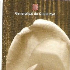 Coleccionismo Marcapáginas: MARCAPAGINAS 23 ABRIL-DIADA . Lote 178027277
