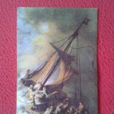Coleccionismo Marcapáginas: MARCAPÁGINAS PUNTO DE LIBRO BOOK MARK REMBRANDT PINTOR LA SANTA BIBLIA LECTURA PINTURA CARROGGIO..... Lote 178042017