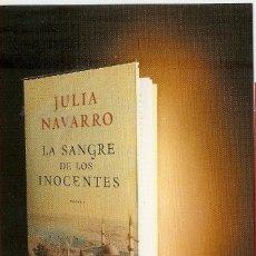Coleccionismo Marcapáginas: MARCAPAGINAS PLAZA Y JANES - LA SANGRE DE LOS INOCENTES. Lote 180158401