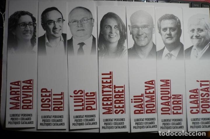 LOTE MARCAPAGINAS PARTIDO ESQUERRA REPUBLICANA POLITICOS (Coleccionismo - Marcapáginas)