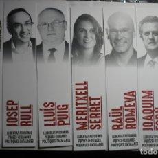 Coleccionismo Marcapáginas: LOTE MARCAPAGINAS PARTIDO ESQUERRA REPUBLICANA POLITICOS. Lote 180274401