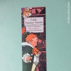 Colecionismo Marcadores de página: MARCAPAGINAS EDITORIAL REINO DE CORDELIA LITTLE SAMMY SNEEZE. Lote 258496765