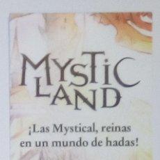 Coleccionismo Marcapáginas: MARCAPÁGINAS EDITORIAL LA GALERA.MYSTIC LAND-. Lote 194693606