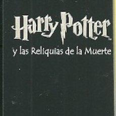 Coleccionismo Marcapáginas: MARCAPÁGINAS. SALAMANDRA. HARRY POTTER Y LAS RELIQUIAS DE LA MUERTE. Lote 182667876