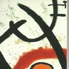 Coleccionismo Marcapáginas: MARCAPÁGINAS. FUNDACIÓN MAPFRE. MIRÓ. Lote 182821131