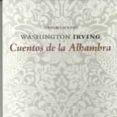 Coleccionismo Marcapáginas: MARCAPÁGINAS. EDITORIAL ENEIDA. WASHINGTON IRVING. CUENTOS DE LA ALHAMBRA. Lote 183002766