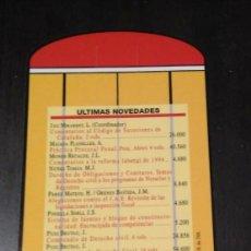 Coleccionismo Marcapáginas: MARCAPÁGINAS CASA EDITORIAL BOSCH. Lote 183423778
