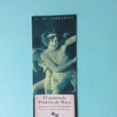 Collectionnisme Marque-pages: MARCAPAGINAS EDITORIAL NAVONA EL GOMINOLA PRIMERO DE MAYO . Lote 183879198