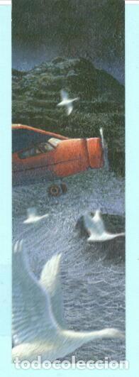 MARCAPÁGINAS EDITORIAL SALAMANDRA TITULO LA CUARTA VERDAD Nº 118 (Coleccionismo - Marcapáginas)