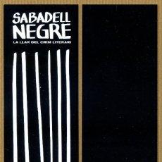 Coleccionismo Marcapáginas: MARCAPÁGINAS ED. SALAMANDRA SABADELL NEGRE 2018. Lote 186277463