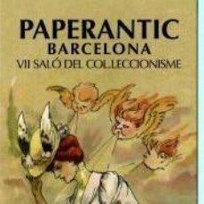 Coleccionismo Marcapáginas: MARCAPÁGINAS DE EDITO PAPERANTIC EL AÑO 2006 BARCELONA. Lote 189644048
