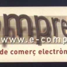 Coleccionismo Marcapáginas: A-7295- PUNTO DE LIBRO. MARCAPÁGINAS. E-COMPRES. VILANOVA I LA GELTRÚ.. Lote 191917348